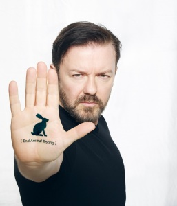 gervais end animal testing